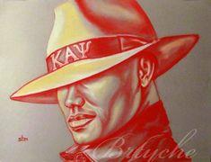 $10.00 11 x 14 Art Print of Chalk Pastel Drawing Mr. Kappa Alpha Psi by Sabrina Tillman McGowens via Etsy