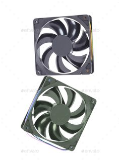 computer cooler isolated by photobalance. computer cooler isolated on white background
