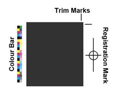 Colour Bars Trim Marks Registration Inside Printing Companies