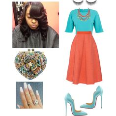 Pre-Musical COGIC by cogic-fashion on Polyvore featuring polyvore, fashion, style, Miss Selfridge, Roksanda, Tom Binns, shu uemura and Christian Louboutin