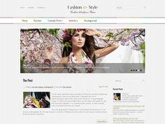 A clean and unique free WordPress theme for fashionable - FashionStyle, it has a gentle and clean feel to it. The elegant theme has 3 dominant colors