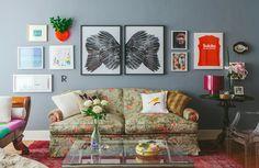 01-decoracao-sala-classica-flores-romantica-quadros