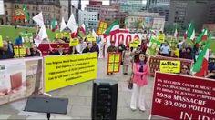 تظاهرات ایرانیان آزاده در مقابل پارلمان کانادا، گرامیداشت شهیدان قتل عام ۶۷