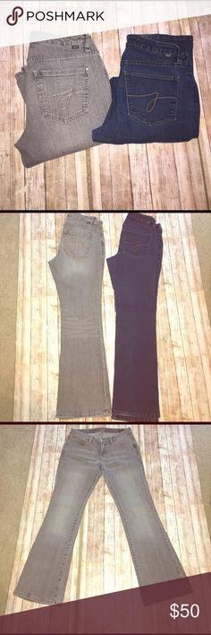 💲⬇️ BOGO Jag Jeans EUC 6P low rise boot leg, rise 8, inseam 28, length 37, EUC Jag Jeans Jeans Boot Cut