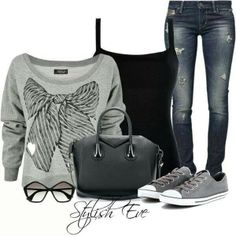 Everyday outfit in gray