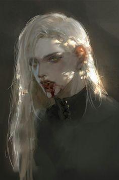 M Anime, Anime Art Girl, Manga Art, Aesthetic Art, Aesthetic Anime, Ange Demon, Vampire Art, Arte Obscura, Dark Fantasy Art