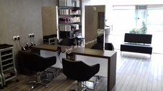 Agencement du salon de Coiffure Aurélie S à Stiring Wendel