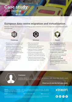 Case Study: European data centre migration and virtualisation - Xtravirt keeps the business running as data centres across Europe are consolidated and centralised
