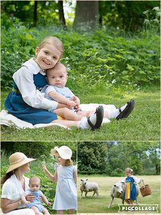 Princess Estelle of Sweden and her baby brother Prince Oscar have sent their national day greetings – via the sweetest photos. The siblings have starred in a new set of portraits that were released on Monday to coincide with the national celebration. One photo showed Estelle playing the doting big sister and wrapping her arms around her baby brother. The young Princess flashed a huge smile at the camera as she cradled Oscar, who was born on 2 March, and gently rested her head on his.