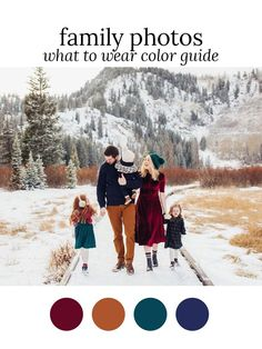 Trendy Photography Ideas Family What To Wear Picture Outfits Ideas Fall Family Picture Outfits, Christmas Pictures Outfits, Family Portrait Outfits, Family Picture Colors, Family Photos What To Wear, Family Christmas Pictures, Holiday Pictures, Fall Family Portraits, Christmas Pics
