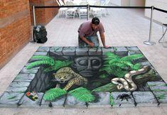 30 Amazing 3D Street Art Paintings