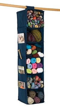 """Six-Shelf Yarn and Craft Organizer 