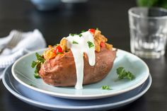 With just the right amount of sweet and spicy, these Thai stuffed sweet potatoes are super satisfying plus an easy dinner solution for your busy weeknights.