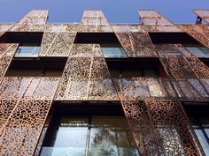 Image result for perforated screen hotel