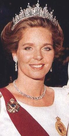 Queen Noor of Jordan. A beautiful woman inside and out. She and her husband used to come into the restaurant I worked at during college. Always gracious and down to earth!