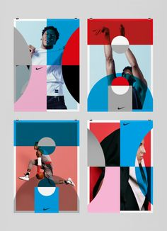 """Nike: """"BYG"""" Terrific design and posters for Nike Basketball. Metal Potential? Gold."""