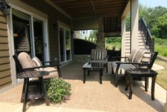 IMG_3250 by BIA Parade of Homes Photo Gallery, via Flickr; aggregate patio with stained concrete edge
