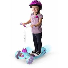 Toys Kids' Electric Scooter Disney Frozen Safe Start 3-Wheel Rechargeable - Electric Scooters