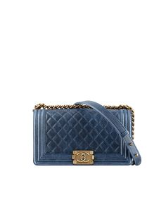 Grained calfskin Boy Chanel flap... - CHANEL