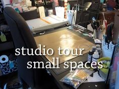 Crafting Studio Tour - Small Spaces {by Britta Swiderski}