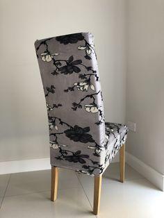 Grey Floral Velvet – Soft Crush Velvet Chair Covers, Crushed Velvet, Accent Chairs, Range, Grey, Floral, Furniture, Home Decor, Chair Sashes