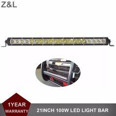 21 Inch 100W Offroad LED Light Bar Driving Lamp 12V 24V Car SUV Truck Trailer Pickup Van Camper Wagon 4WD AWD 4X4 UTV Headlight