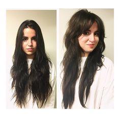 Curly Hair Cuts, Long Curly Hair, Long Hair Cuts, Curly Hair Styles, Long Shag Hair, Long Shaggy Haircuts, Haircuts For Long Hair, Thick Wavy Haircuts, Bohemian Hairstyles