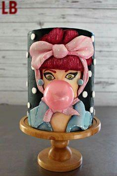 by Lipstick Baker Custom Cakes