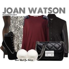 Wear What You Watch • Inspired by Lucy Liu as Joan Watson on...
