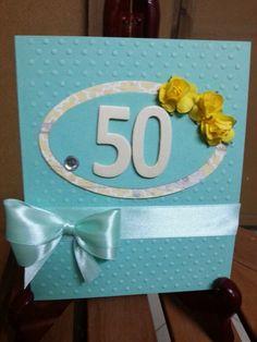 Card 50anni