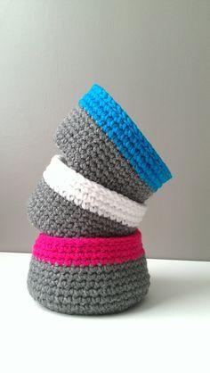 Crochet Neon Bowl