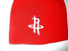 Rockets Beanie NBA Houston Texas Bright Red Cuff less Toque Hat Cap NWOT Bright #HoustonRockets