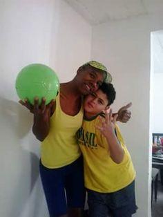 Copa de 2014 - Rio de Janeiro/BR... Thalison, meu afilhado...