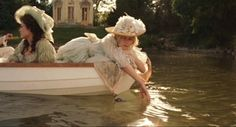 Floating on the canal past the Belvedere pavilion...Marie Antoinette. We have the same birthday!