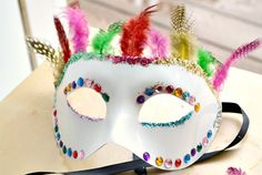 Invited to a Mardi Gras party? This simple DIY Mask takes less than an hour to make. (She Knows)