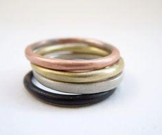 Quartet ring by Evrydiki on Etsy, $40.00