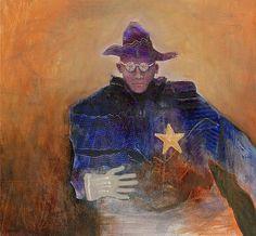 Mel McCuddin - 'The Nearsighted Sheriff' - The Art Spirit Gallery of Fine Art