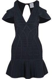 Estelle cutout bandage mini dress