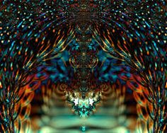 Stained glass fractal