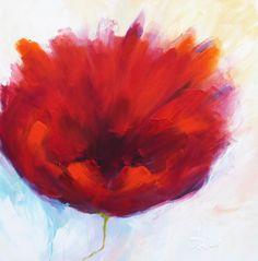 Adry's schilderij nr. 2013 met als titel: Met verve in opzet geslaagd in het formaat 80 x 80 cm.