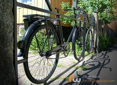 Driveway Gate Made of Bicycles