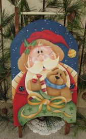 #ep145  Santa's Workshop (Downloadable e-pattern)