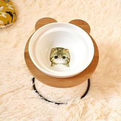 New High-end Pet Bowl Bamboo Shelf Ceramic Feeding and Drinking Bowls for Dogs and Cats Pet Feeder Accessories Bamboo Shelf, Pet Bowls, Pet Feeder, Halloween Sale, Dog Feeding, Design Your Home, Ceramic Bowls, Dog Breeds, Your Pet