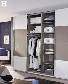 Dieser Schwebetürenschrank Bietet Ausreichend Platz Für All Unsere Kleider.  #schrank #schlafzimmer #idee