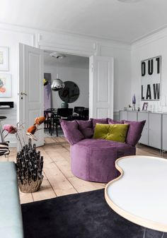 Living Room Violet Color 123 best décor violet / purple images on pinterest in 2018 | colors