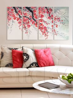 BLOSSOM BRANCH Beautiful Places To Live, Wall Stickers, House Warming, Sweet Home, Canvas Prints, Tapestry, Hair Inspiration, Giveaway, Diy