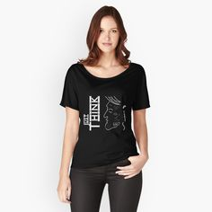 My T Shirt, Tee Shirts, Tees, Adventure Time Zeichnungen, Loose Fit, 5 Solas, Make You Smile, Chiffon Tops, Retro Fashion