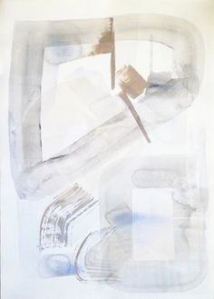 NG Collective Studio, 'Links I', Mixed Media on Paper, 30x22 - Anne Irwin Fine Art