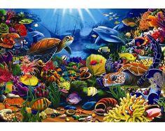 Puzzle Anatolian La Belleza del Mar de 260 Piezas