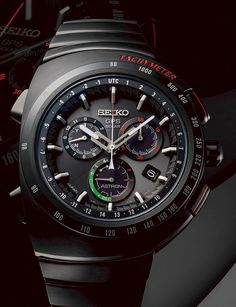 Introducing the new Seiko Astron Giugiaro Design Limited Edition 3'000 pieces SSE121 GPS. A collaboration with Italian design powerhouse dating back to 1983. Featuring GPS controlled time, time zone adjustment and much more...